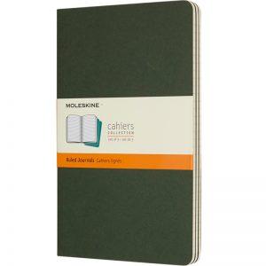 Moleskine cahier groen_1