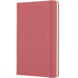 Moleskine notitieboek met bedrukking Daisy Pink