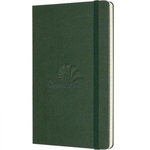 Moleskine notitieboek met bedrukking Myrtle Green