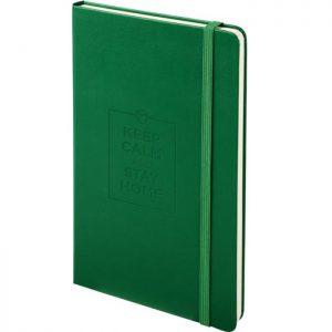 Moleskine notitieboek met bedrukking Oxide Green
