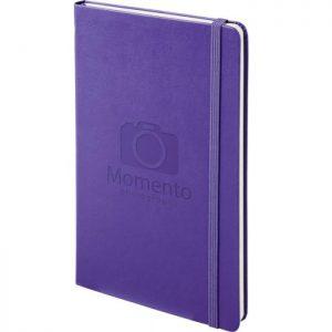 Moleskine notitieboek met bedrukking Paars