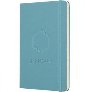Moleskine notitieboek met bedrukking Reef Blue