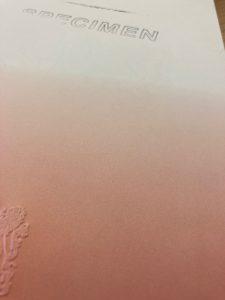 vloeiend kleurverloop diploma papier