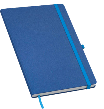 cotton notitieboek met eigen logo