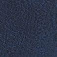 Lederlook notitieboek donkerblauw met logo bedrukking