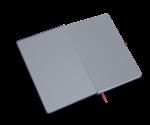 spiegelblad in de kleur grijs