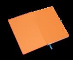 spiegelblad in de kleur oranje