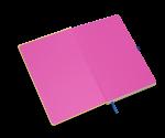 spiegelblad in kleur roze