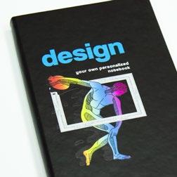 full colour druk op notitieboek