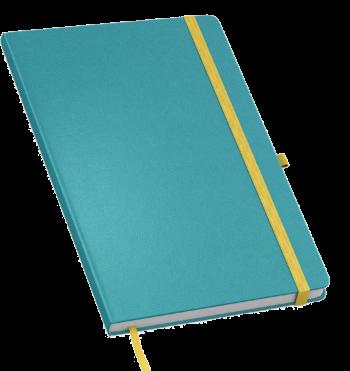 Gloss notitieboek bedrukt met eigen logo