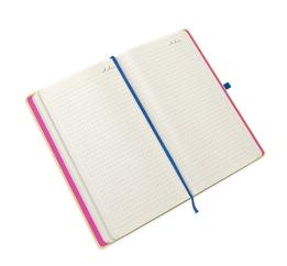 Ivoor kleurig papier met stippen notitieboek