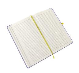 Ivory gelinieerd papier notitieboek