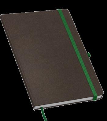 Juta eco notitieboek bedruk met eigen logo
