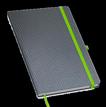 Pattern notitieboek bedrukt met eigen logo