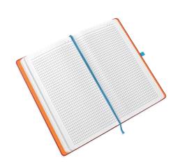 Wit geruit papier notitieboek