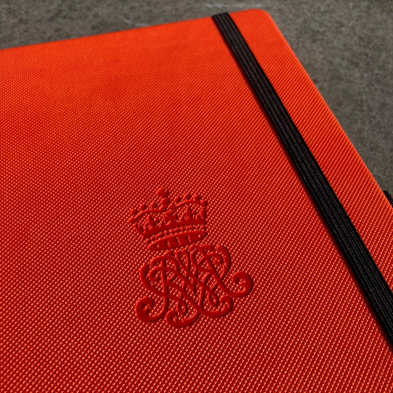 Mix&Match notitieboek Moderno Oranje met logo preeg