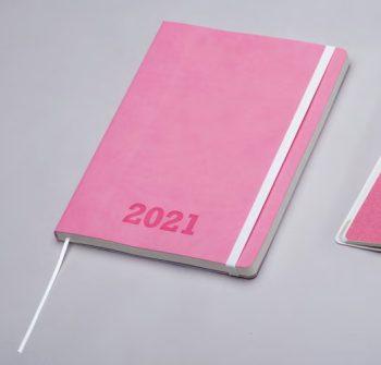 Agenda Torino Roze - op maat bedrukt