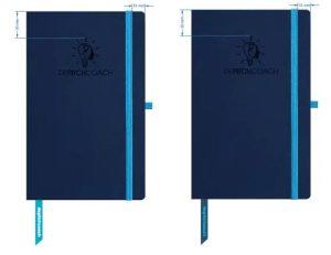 notitieboek met leeslint bedrukking